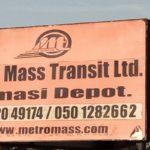 Poor state of Kumasi Metro Mass Transit terminal