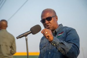 VIDEO: 'Bentua' now a weapon for coup plots in Ghana – Mahama mocks