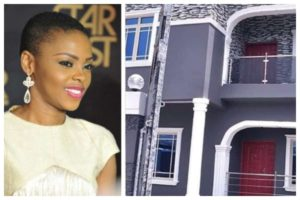 PHOTOS: Singer Chidinma buys a mansion for her mother as 60TH Birthday gift
