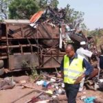Military personnel involved in an accident at Nsawam