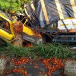 Two drivers perish in Akyem Asafo fatal crash