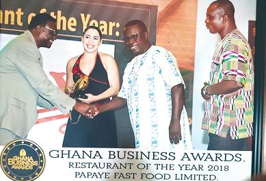 Papaye wins Restaurant of the Year Award