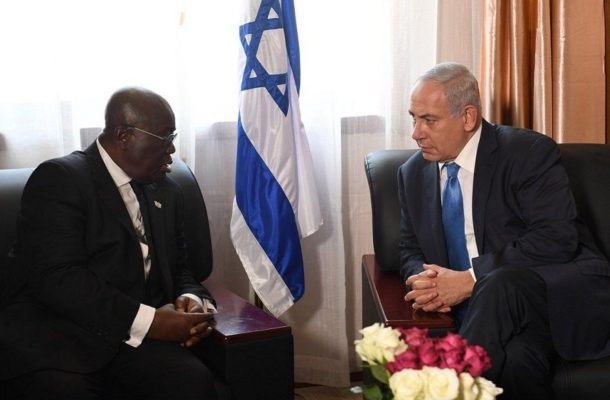 Israel solicits Ghana's support to return as AU Observers