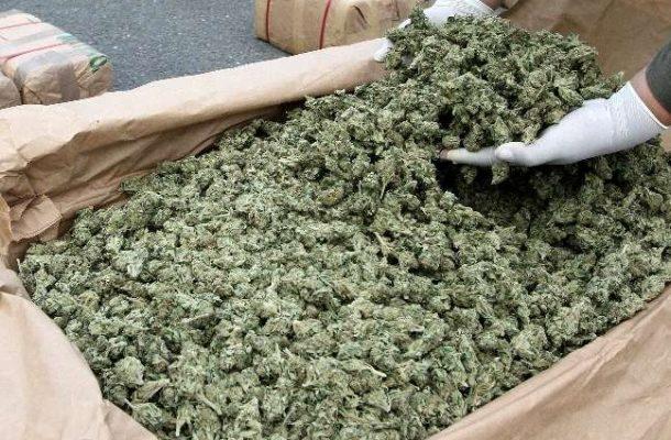 Police intercepts GHS300K worth of 'wee'