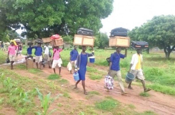 Tempane SHS students' hunger strike forces school's closure