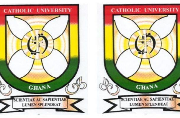 Catholic University's SRC account frozen by court over GHS140K debt