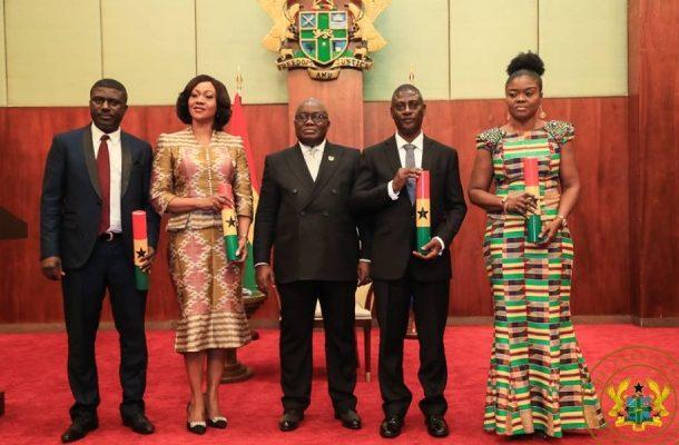 Akufo-Addo praises Jean Mensa-led EC for passing first test