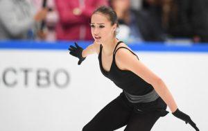 Russian Figure Skating Star Zagitova Turns Heads With Hockey Stunt (VIDEO)