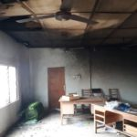Aggrieved Fomena NPP Executives, Footsoldiers set constituency office ablaze