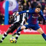 Messi nets hat-trick as Barcelona thrash Emmanuel Boateng's Levante