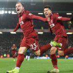 Liverpool beat United, Messi reaches milestone