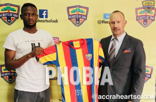 Hearts of Oak sign former WAFA captain Mohammed Alhassan