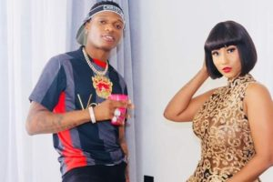 Hajia 4Real 'shows boobs' in King Promise, Wizkid video