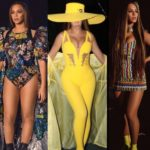 PHOTOS: All the stunning outfits Beyonce rocked for Global Citizen performance in South Africa