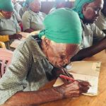 95-year-old woman enrolls in school to learn to read and write