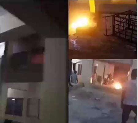 University students burn down hostels after the school VC suspended 200 students for refusing drug tests