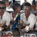 PHOTOS: 'Blind' beggar regains eyesight after Police threatened her with tear-gas