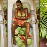 Actress Salma Mumin begs for forgiveness over naked melon photos; pulls down photo from social media