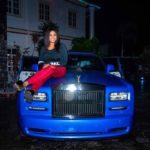 PHOTOS: Nigerian Billionaire Music Executive buys his wife Rolls Royce Phantom as her Christmas gift