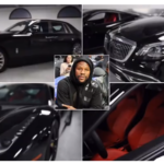 PHOTOS/VIDEO: Floyd Mayweather shows off his expensive garage with luxury cars worth more than £1.5MILLION