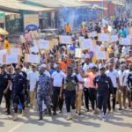 Abudus and Andanis walk for peace