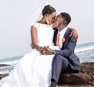 VIDEO: The Ghanaian couple whose wedding ring was delivered via a 'Drone Service'