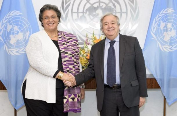 Former Foreign Minister, Hanna Tetteh gets new top UN post; heads UN Office at AU