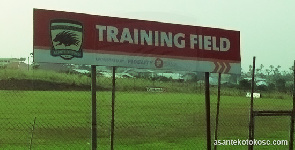 Asante Kotoko complete construction of new training pitch