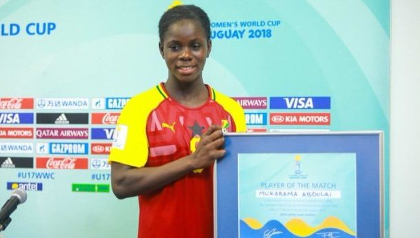 U-17 WWC: Black Maidens captain Abdulai Mukarama wins FIFA Golden Boot