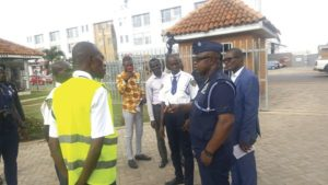 Police arrest private security personnel over uniforms