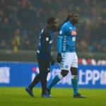 Kwadwo Asamoah's Inter handed stadium ban after alleged racism towards Kalidou Koulibaly