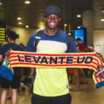 Dwamena has played only 58 minutes for Levante in La Liga this season