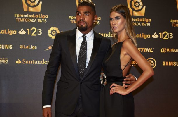 Photos: Kevin-Prince Boateng fights racism with statement on diamond chain