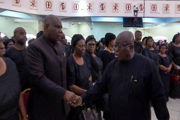 VIDEO: Boakye Agyarko and Akufo-Addo 'ignore' each other at Agyarko's One Week Celebration