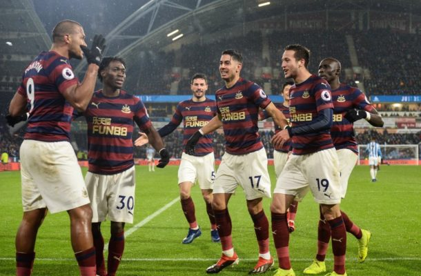 Newcastle United winger Christian Atsu delighted after 'big win' over Huddersfield