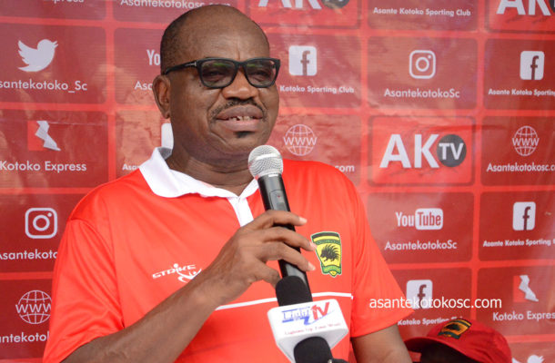 Asante Kotoko hold press conference today ahead of CAFCC tie against Kariobangi Sharks