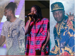 VIDEO| Gyan and Adebayor thrill fans at Stonebwoy's Bhim concert