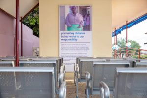 Novo Nordisk builds 4 room office diabetes centre for South Suntreso gov't hospital