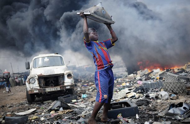 Ghana's electronic waste scrap yard, Agbogbloshie, to be transformed