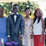 Black Stars defender Jonathan Mensah marries long-term girlfriend Kafui Tinglafo