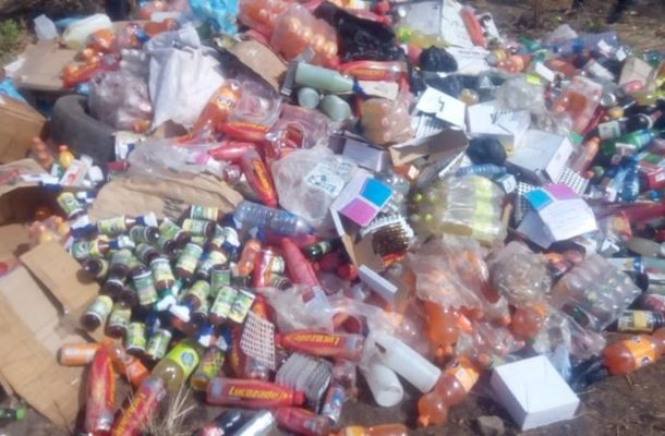 FDA destroys expired products worth over GHC40,000