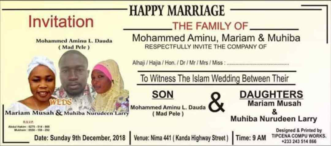 The marriage invitation cards that went viral