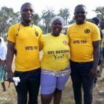 Kofi Adams leads YES campaign in Oti region