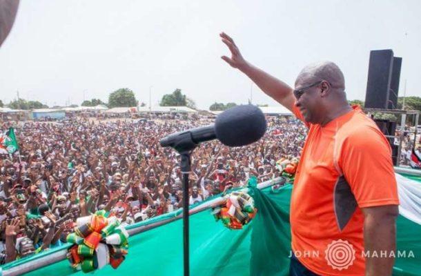 Mahama takes campaign tour to Savannah Region August 13