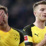 Fortuna Dusseldorf 2-1 Borussia Dortmund: leaders suffer first defeat