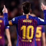 Barcelona 2-0 Celta Vigo: Ousmane Dembele and Lionel Messi score in victory