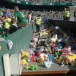 Real Betis: Generous fans donate thousands of toys to local children
