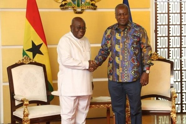 Mahama beats Akufo-Addo in a poll