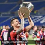 ATLETICO MADRID making a stand against Bayern on Lucas HERNANDEZ
