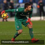KASIMPASA approaching Fiorentina backup goalie DRAGOWSKI
